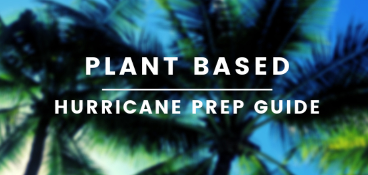 Plant Based Hurricane Food Guide